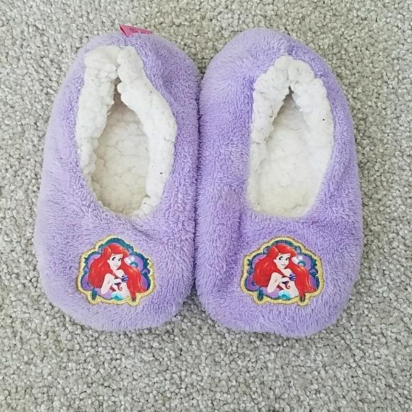 Toddler Girl Little Mermaid Slippers